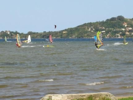 Windsurfing na Lagoa