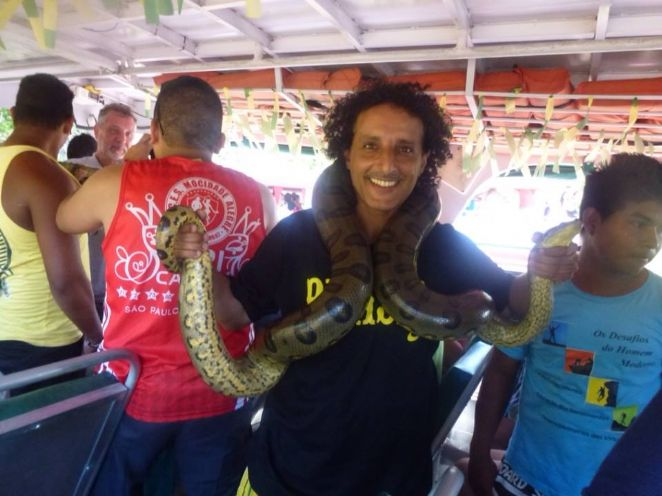 Anaconda...! Giant Snake