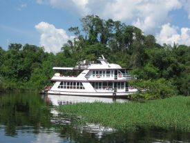 Amazon House Boat