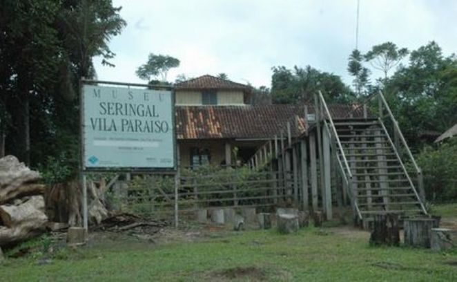 MUSEL DO SERINGAL(BORRACHA) VILA PARAISO