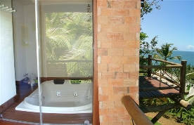 Vista da Jacuzzi do 1o. andar