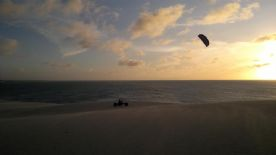 Kite buggy na duna