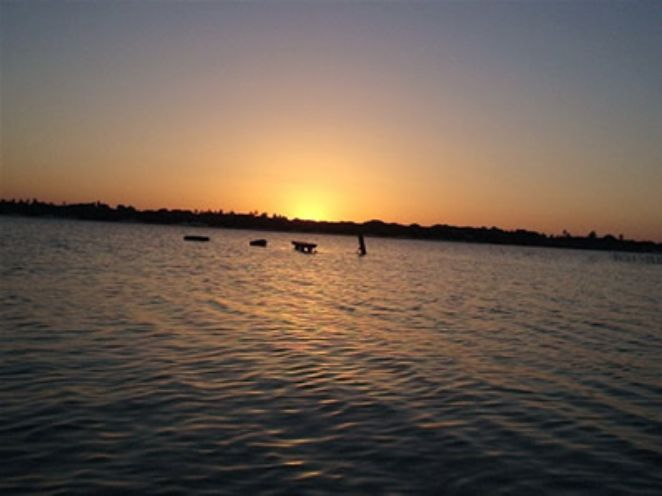 por do sol lagoa do paraiso