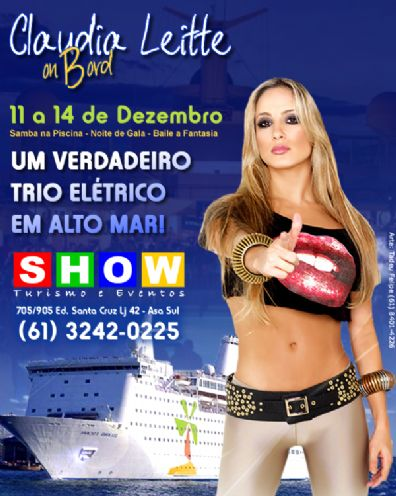 * Claudia Leitte On Board *