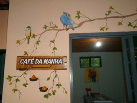Area de cafe da manha