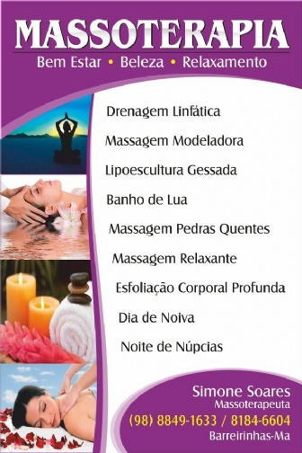 Massagem Relaxante