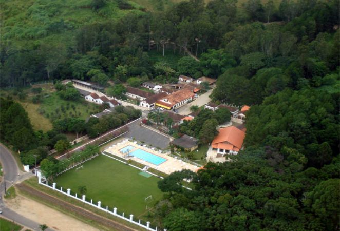 vista a�rea do Hotel Fazenda Ramon