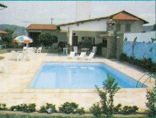 piscina, churrasqueira, bar e sauna