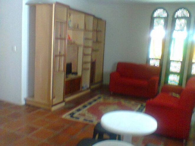 interior do albergue