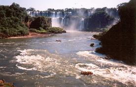 Rafting nas Cataratas