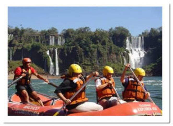 rafting nas Cataratas do Iguaçu