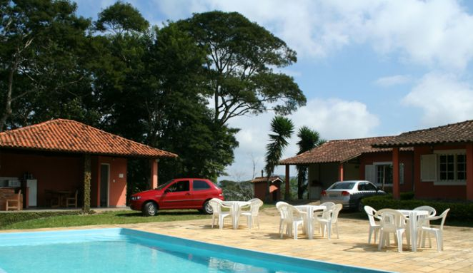 Piscina e Churrasqueira