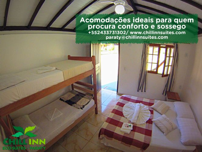 Quarto privativo triplo