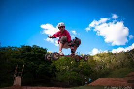 Mountain Board no Trilhas do Olimpo