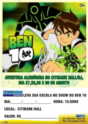 BEN 10 - CITIBANK HALL