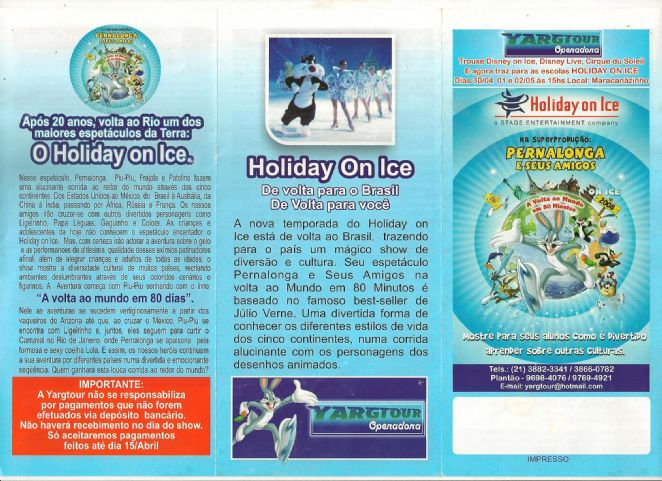 HOLIDAY ON ICE _ A VOLTA AO MUNDO EM 80 MINUTOS