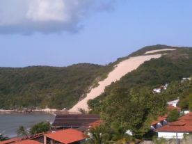 vista para o morro do careca