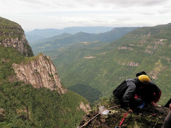 Canyonismo do Bra�o Solit�rio