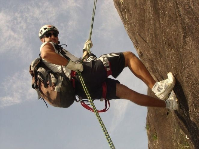 Rappel no Morro do Maluf