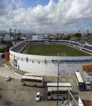 Foto do estádio Presidente Médice.